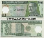 Guatemala 1 Quetzal 2006 (B270739xxB) UNC