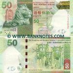 Hong Kong 50 Dollars 1.1.2010 (BE343602) UNC