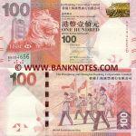 Hong Kong 100 Dollars 1.1.2010 (BN5946xx) UNC