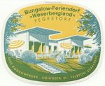 Germany: Bungalow-Feriendorf WESERBERGLAND Pegestorf (unhinged, fully glued)