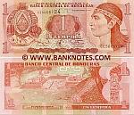 Honduras 1 Lempira 18.9.1997 (CE50661xx) UNC
