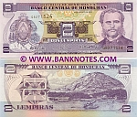 Honduras 2 Lempiras 26.8.2004 (Q82715xx) UNC