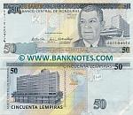 Honduras 50 Lempiras 26.8.2004 (AG11045xx) UNC