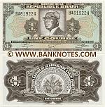 Haiti 1 Gourde (1983-84) (BA6192xx) UNC