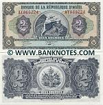 Haiti 2 Gourdes (1987) (AY8862xx) UNC