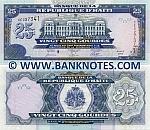 Haiti 25 Gourdes 2004 (BE3751xx) UNC