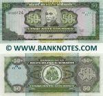 Haiti 50 Gourdes 2003 (BP3501xx) UNC