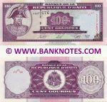 Haiti 100 Gourdes 2000 (AS9725xx) UNC