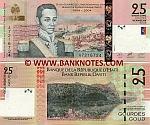 Haiti 25 Gourdes 2004 (A72167xx) UNC
