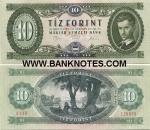 Hungary 10 Forint 1975 (A110/1202xx) UNC