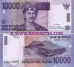Indonesia 10000 Rupiah 2010/2005 (CAB5438xx) UNC