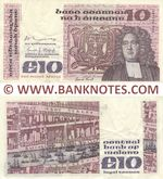 Ireland (Republic) 10 Pounds 18.7.1978 (EGC 961285) (circulated) VF-XF