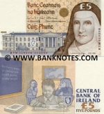Ireland (Eire) 5 Pounds 1999 (RTM 519867) UNC