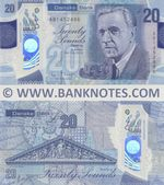 Northern Ireland 20 Pounds 6.7.2019 Danske Bank (polymer) (AB1452486) UNC