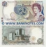 Isle of Man 5 Pounds (1991) (K4781xx) UNC