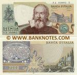 Italy 2000 Lire 1983 (FA 5268xx Y) UNC