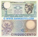 Italy 500 Lire 20.12.1976 (A14/718770) (lt. circulated) XF-AU