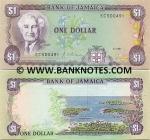 Jamaica 1 Dollar 1990 (EC5040xx) UNC