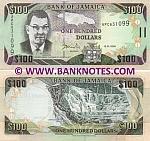 Jamaica 100 Dollars 15.1.2009 (APC6310xx) UNC