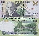 Jamaica 1000 Dollars 15.1.2010 (SK321557) UNC