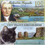 Kerguelen 100 Francs 2010 (polymer) (00399) UNC