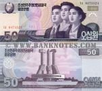 Korea (North) 50 Won 2002 (G/KP 04735xx) UNC