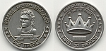 Kingdom of Time Coin One Lifetime 2009 (# A0001) UNC