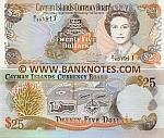 Cayman Islands 25 Dollars 1996 (B/1 601911) UNC