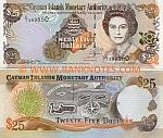Cayman Islands 25 Dollars 2003 (C/I 999960) UNC