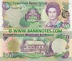 Cayman Islands 50 Dollars 2003 (C/2 000512) UNC