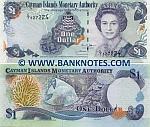 Cayman Islands 1 Dollar 2006 (C/7 5272xx) UNC