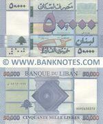 Lebanon 50,000 Livres 2019 (D092630275) UNC