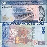 Sri Lanka 50 Rupees 1.1.2010 UNC