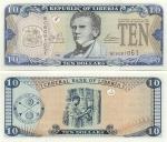 Liberia 10 Dollars 2003 (BC60810xx) UNC