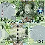 Lesotho 100 Maloti 2010 (AF4798xx) UNC
