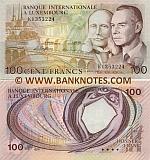 Luxembourg 100 Francs 8.3.1981 (K13532xx) UNC