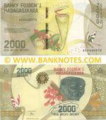 Madagascar 2000 Ariary (2017) (A204409xx) UNC