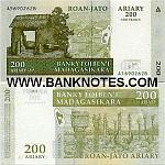 Madagascar 200 Ariary 2004 (A78965xxP) UNC