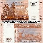 Madagascar 500 Ariary 2004 (A09312xxF) UNC