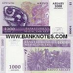 Madagascar 1000 Ariary 2004 (A14897xxL) UNC