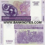 Madagascar 1000 Ariary 2004 (A02908xxD) UNC
