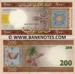 Mauritania 200 Ouguiya 2004 (BA435219xA) UNC