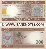 Mauritania 200 Ouguiya 28.11.2006 (BE15872xxA) UNC
