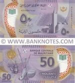 Mauritania 50 Ouguiya 28.11.2017 (A2588xxxAC) UNC