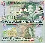 Montserrat 5 Dollars (2000) (A8628xxM) UNC
