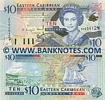 Montserrat 10 Dollars (2000) UNC