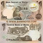 Malta 1 Lira (1979) (A/14 240xxx) UNC
