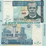 Malawi 50 Kwacha 31.10.2007 (BH09421xx) UNC