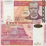 Malawi 100 Kwacha 31.10.2005 (BE58627xx) UNC