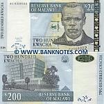 Malawi 200 Kwacha 1.6.2004 (BL63280xx) UNC